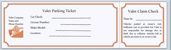Parking Ticket Template Word Luxury 25 Of Parking Pass Template Word