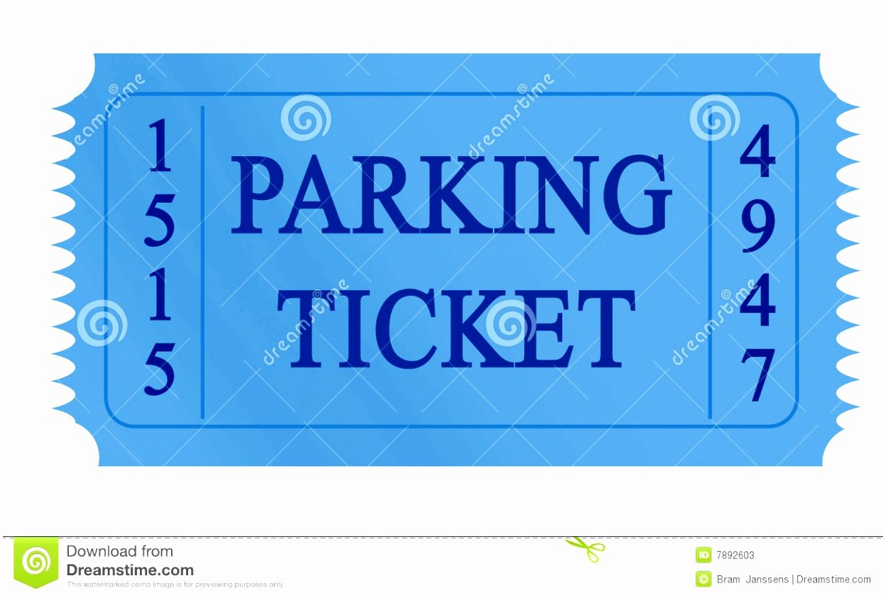 Parking Ticket Template Word Unique 9 Printable Parking Ticket Template Eprot