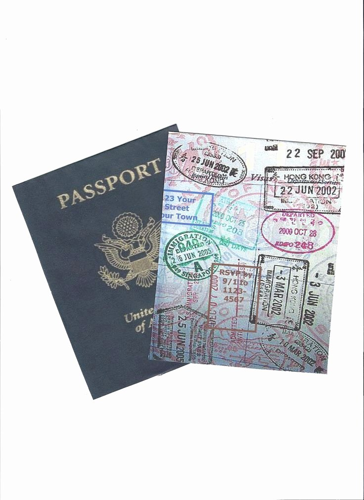 Passport Invitation Template Free Elegant 36 Best Passport Images On Pinterest