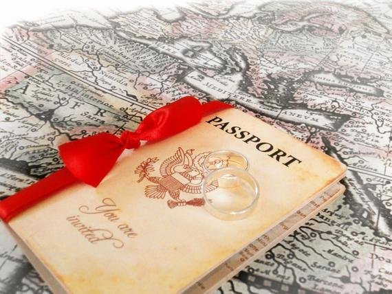 Passport Invitation Template Free Lovely Wedding Invitation Passport Printable by Designedwithamore