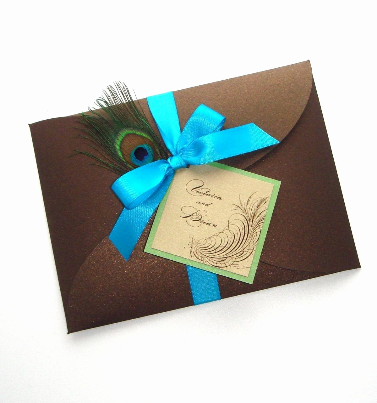 Peacock Feather Wedding Invitations Awesome Victoria Peacock Wedding Invitation Sample Peacock Feather