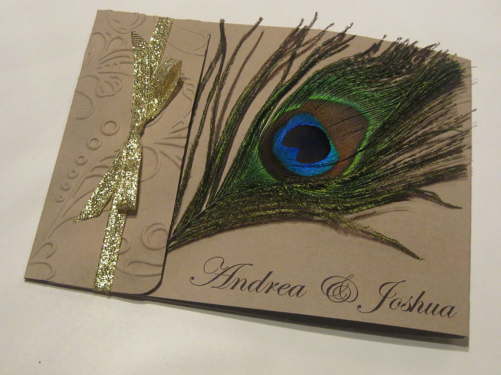 Peacock Feather Wedding Invitations Best Of Hand Stamped by ashley Romo Peacock Feather Wedding Invitations