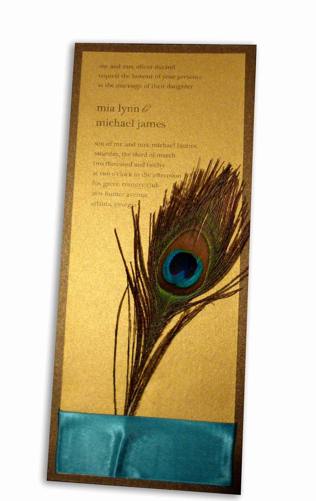 Peacock Feather Wedding Invitations Best Of to Have and to Hold Peacock Wedding theme