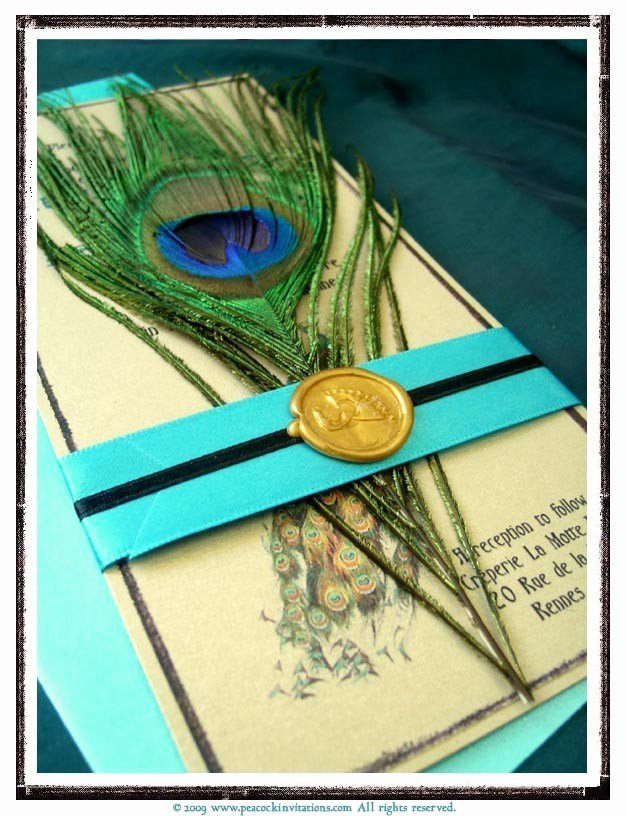 Peacock themed Wedding Invitations Awesome Great Ideas for the Busy Little Bride Peacock themed Wedding Invitations