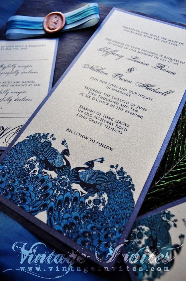 Peacock themed Wedding Invitations Best Of Vintage Wedding Love Vintage Invites Wedding Invitations for Vintage Lovers the Tiffany
