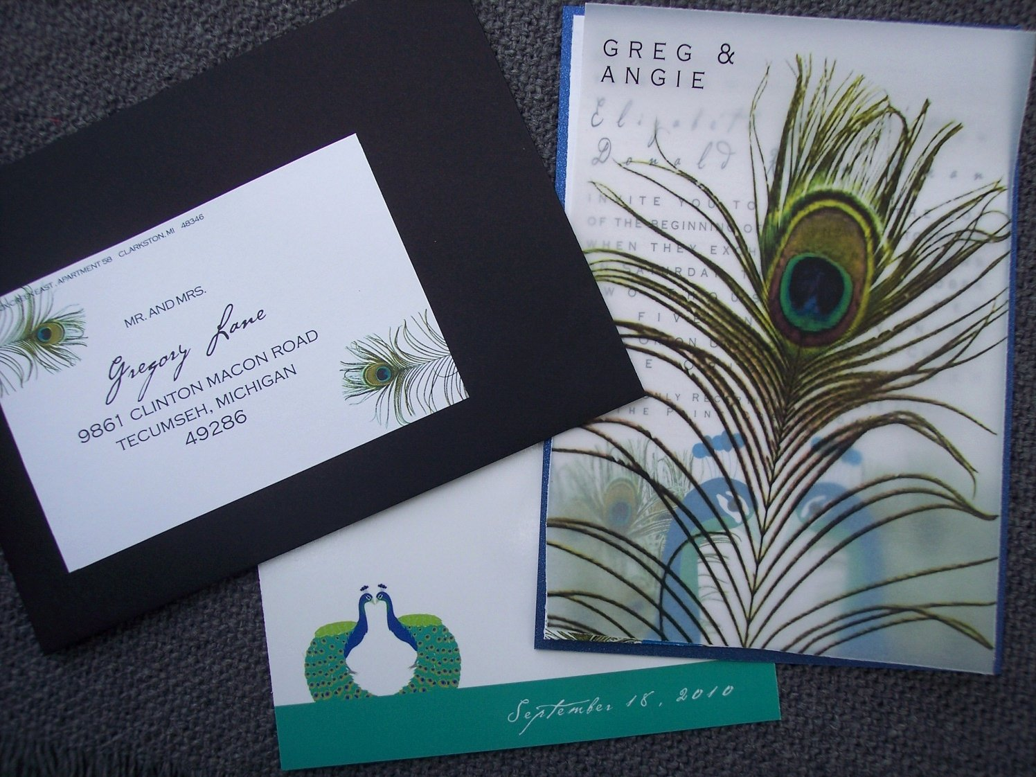 Peacock themed Wedding Invitations Inspirational Peacock Wedding Invitations