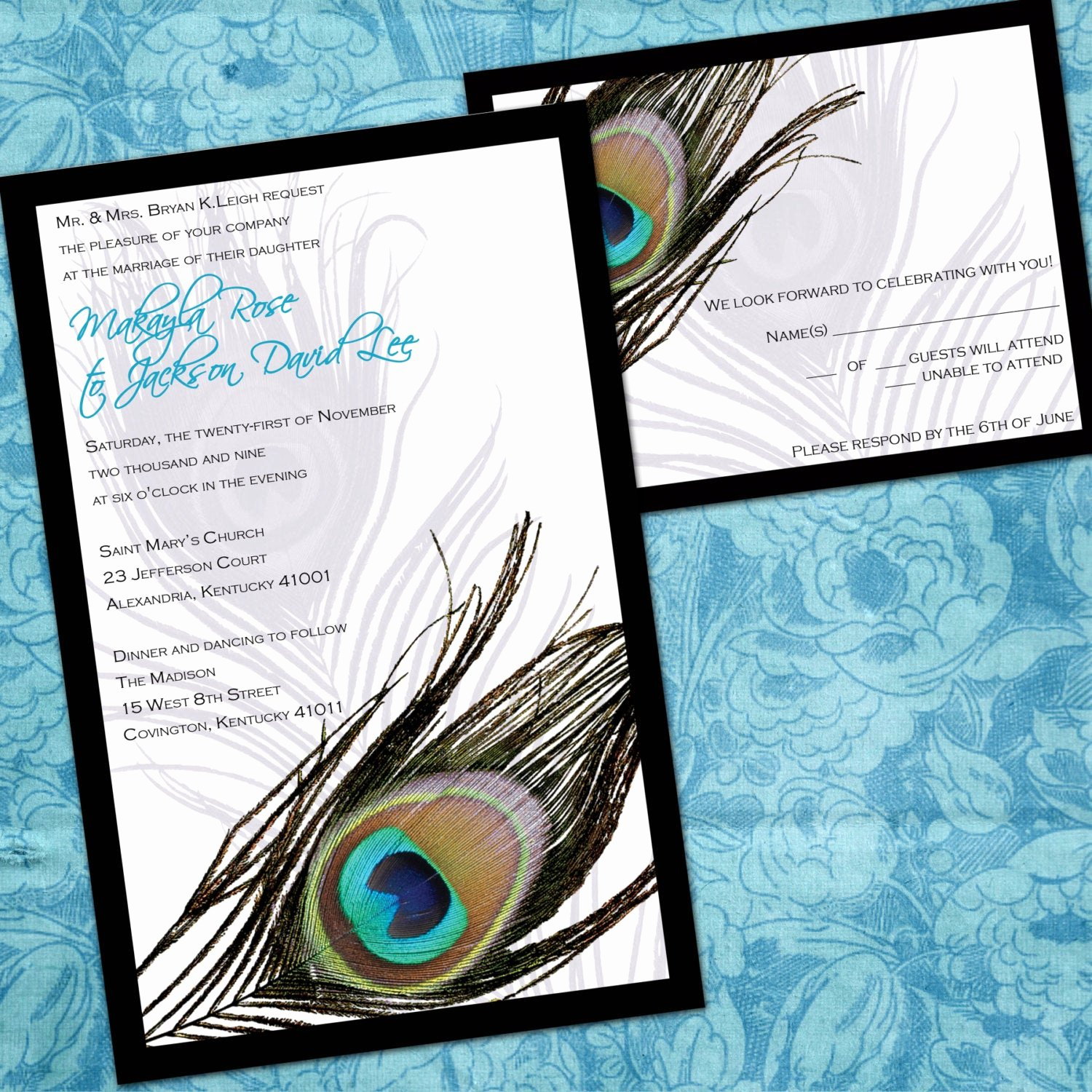 Peacock Wedding Invitations Template Best Of Printable Peacock Wedding Invitations Peacock by Invitingmoments