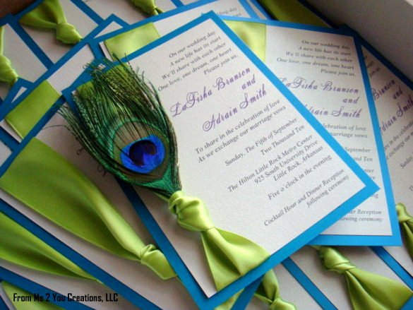 Peacock Wedding Invitations Template Lovely 23 Peacock Wedding Invitation Templates – Free Sample Example format Download