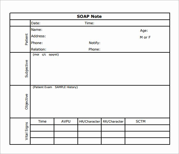 Pediatric soap Note Template Lovely Best S Of soap Note Template Acupuncture soap Note Template Dental soap Notes Example
