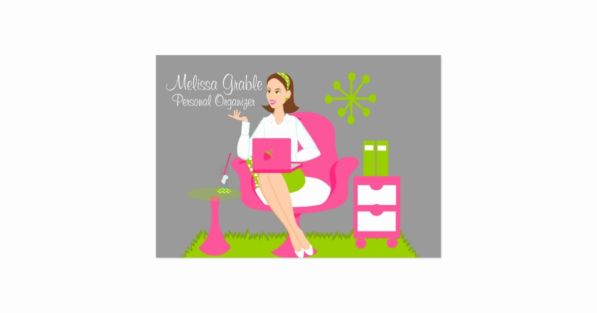 Personal assistant Business Cards Awesome Personal assistant Business Card