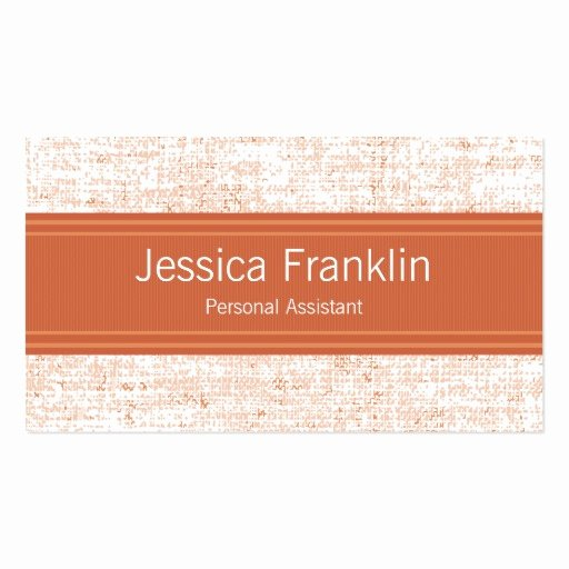 Personal assistant Business Cards Luxury Personal assistant Business Card Templates