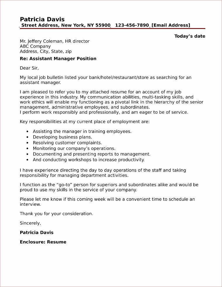 Personal assistant Cover Letter Awesome Personal assistant Cover Letter Sample