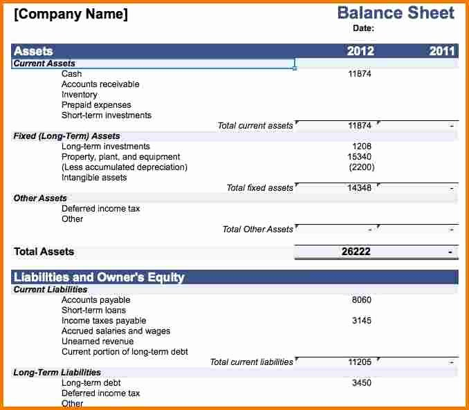 Personal Balance Sheet Template New Download Personal Balance Sheet Template Microsoft Word Free Clevelandblogger
