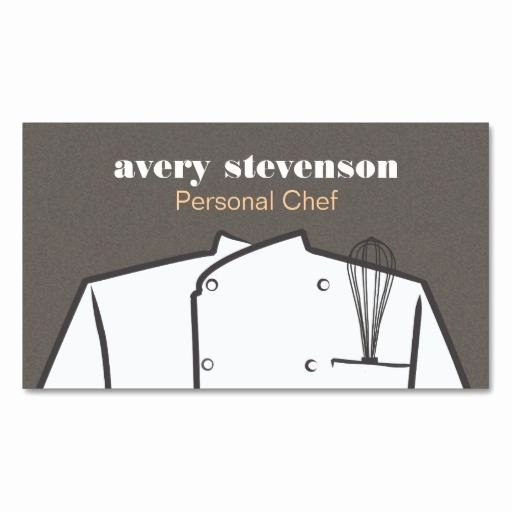Personal Chef Business Card Fresh 17 Best Images About Personal Chef Business On Pinterest