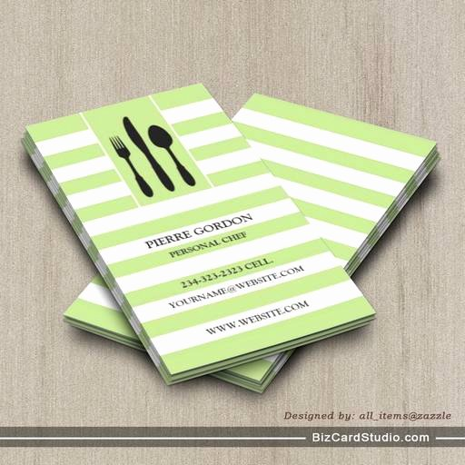 Personal Chef Business Cards Beautiful Personal Chef Business Card