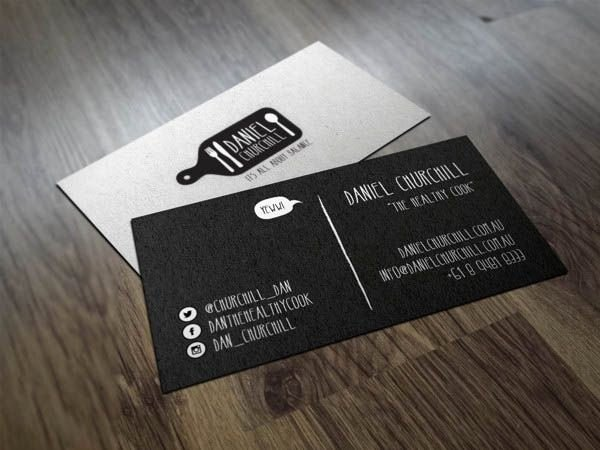 Personal Chef Business Cards Lovely 30 Examples Creative Chef Business Card for Inspiration Smashfreakz Sergio Mota