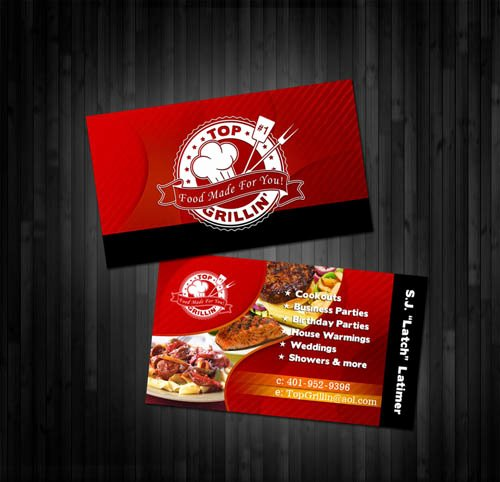 Personal Chef Business Cards Luxury 10 Creative Chef Business Card Examples Mow Design