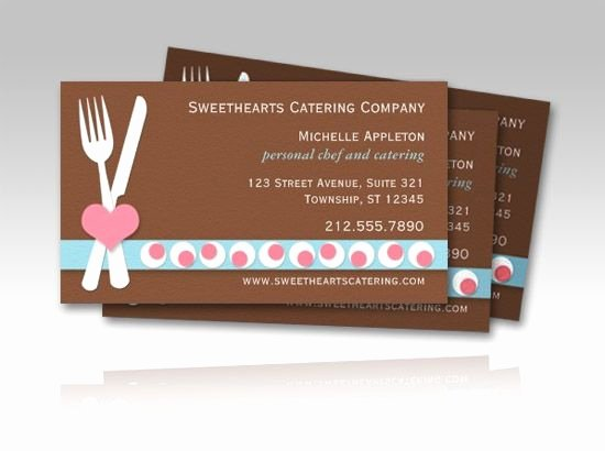 Personal Chef Business Cards New Personal Chef and Catering Culinary Business Cards Full Color 2 Sided $21 80 Per Box Of 100