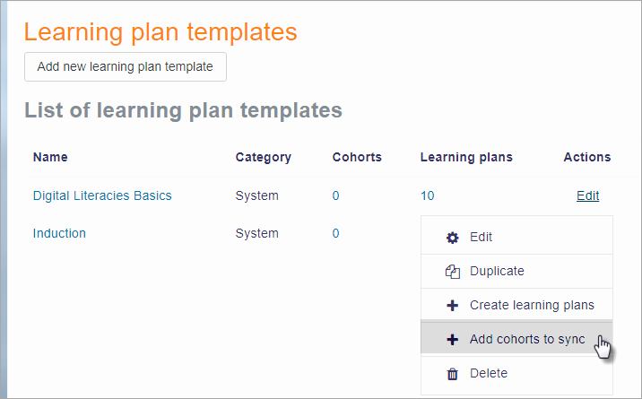 Personal Learning Plan Example Best Of Learning Plans Moodledocs