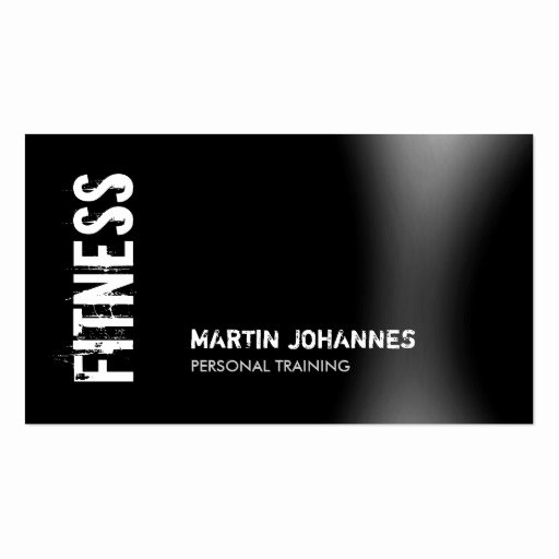 Personal Trainer Business Card Awesome Fitness Business Cards 1500 Fitness Business Card Templates