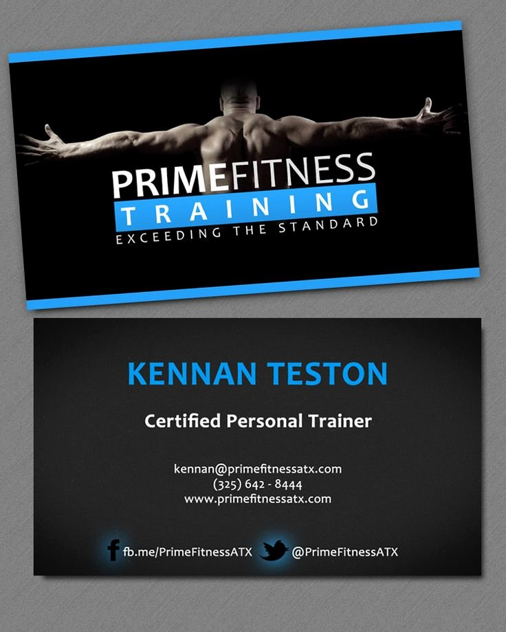 Personal Trainer Business Card Elegant 25 Best Ideas About Personal Trainer Business Cards On Pinterest