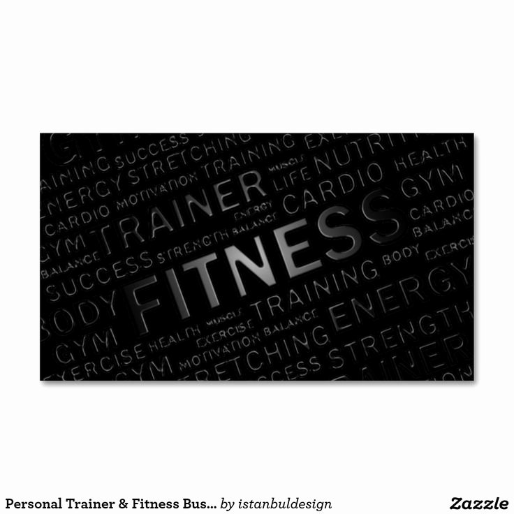 Personal Trainer Business Card Ideas Awesome Best 25 Personal Trainer Business Cards Ideas On