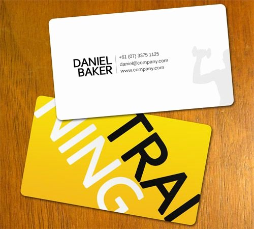 Personal Trainer Business Card Ideas Elegant Best 25 Personal Trainer Business Cards Ideas On