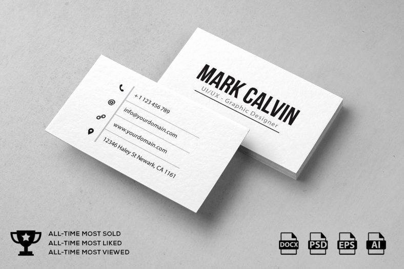 Personal Trainer Business Card Ideas Luxury 9 Minimal Personal Trainer Business Card Designs