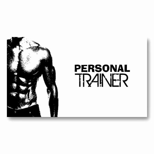 Personal Trainer Business Card Ideas Unique Personal Trainer Business Cards