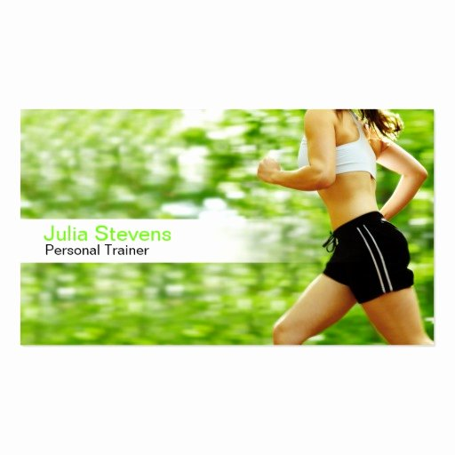 Personal Trainer Business Card Lovely Personal Trainer Business Card