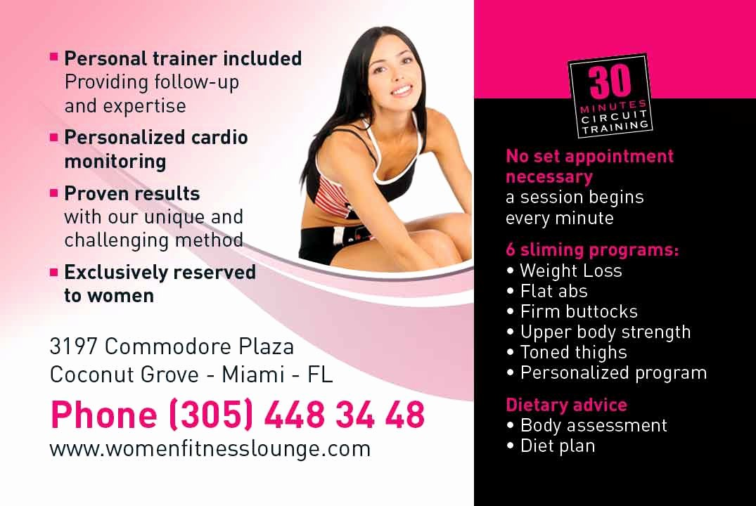 Personal Trainer Business Card Luxury Marketing for Personal Trainers Elite Flyers Blog