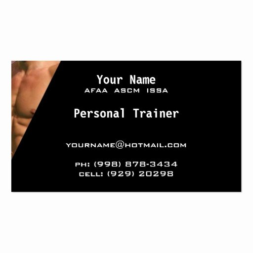 Personal Trainers Business Cards Best Of Personal Trainer Business Cards