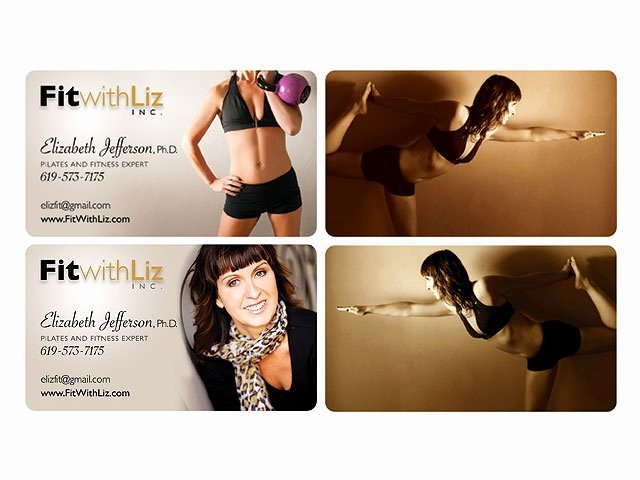Personal Training Business Card Awesome Business Card Portfolio