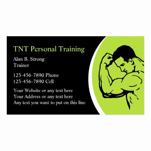 Personal Training Business Card Best Of Personal Training Business Cards