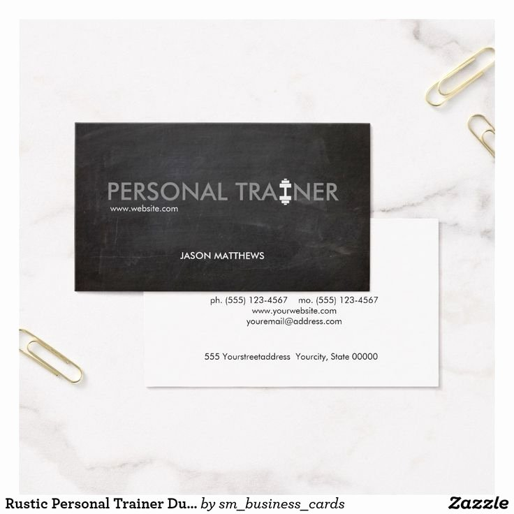 Personal Training Business Card New Best 25 Personal Trainer Business Cards Ideas On Pinterest