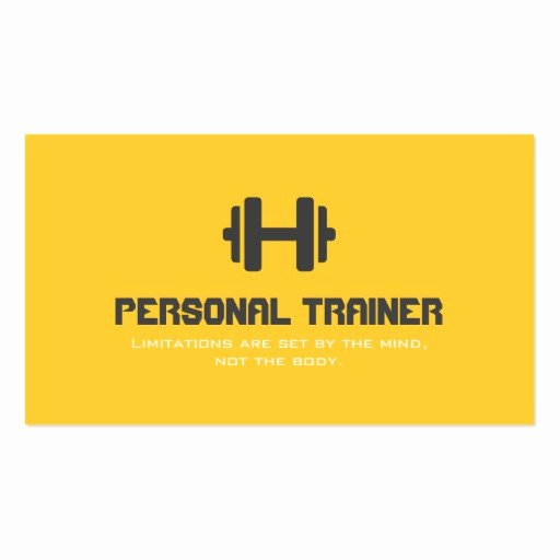 Personal Training Business Card Unique Premium Fitness Business Card Templates