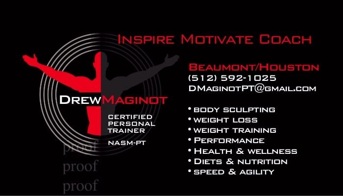 Personal Training Business Cards Beautiful Personal Trainer Business Cards Yelp