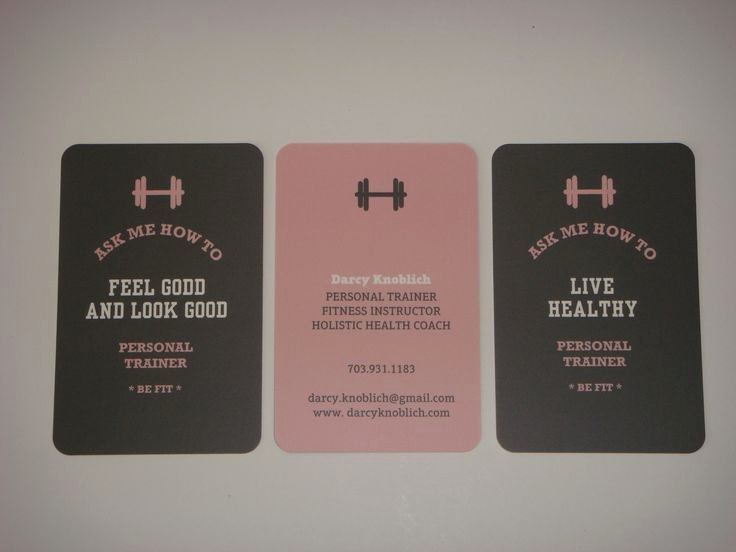 Personal Training Business Cards Inspirational Best 25 Personal Trainer Business Cards Ideas On Pinterest