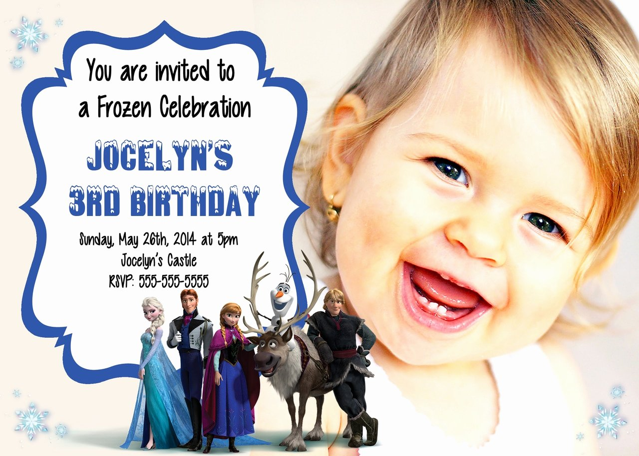 Personalized Frozen Birthday Invitations Awesome Disney Frozen Movie Birthday Personalized Invitations Partyexpressinvitations