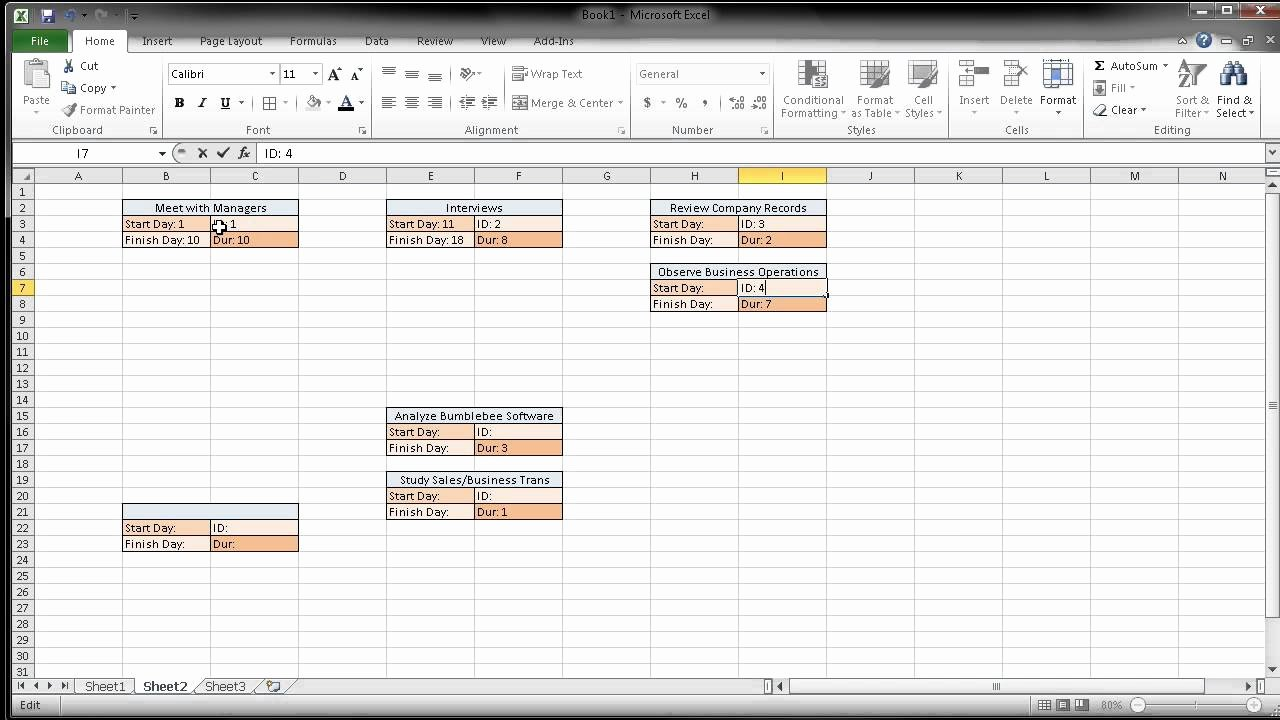 Pert Chart Template Excel Luxury Creating A Pert Cpm Chart Using Excel