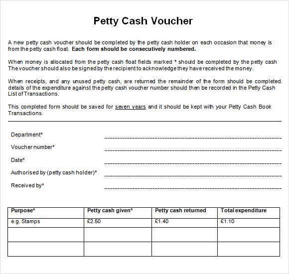 Petty Cash Voucher form Beautiful Free 13 Petty Cash Voucher Templates In Illustrator Ms Word Pages Shop Publisher