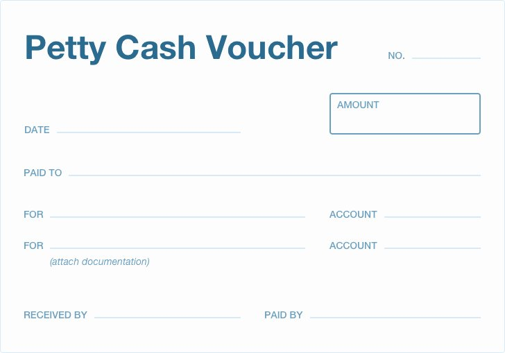 Petty Cash Voucher form New What is Petty Cash
