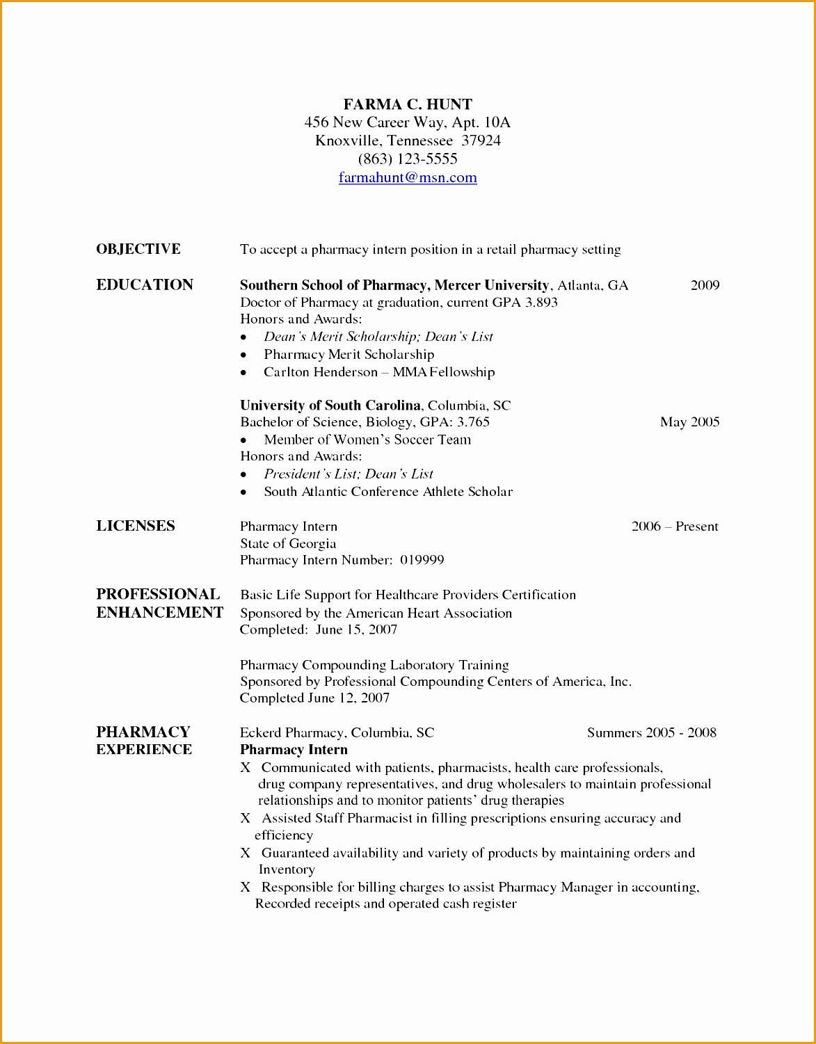 Pharmacist Curriculum Vitae Template Best Of 7 Pharmacist Curriculum Vitae Templates Free Samples Examples & format Resume Curruculum