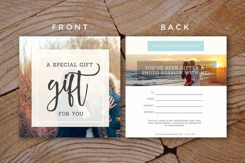 Photo Session Gift Certificate Beautiful 19 Pany Gift Certificate Designs & Templates Psd Ai