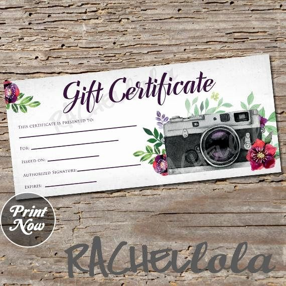 Photo Session Gift Certificate Best Of Best 25 Gift Certificate Templates Ideas On Pinterest