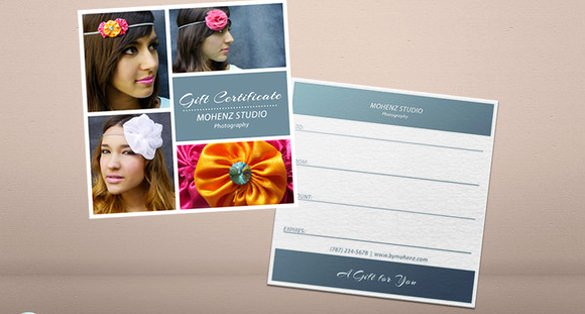 Photo Session Gift Certificate Lovely Graphy Gift Certificate Templates – 17 Free Word