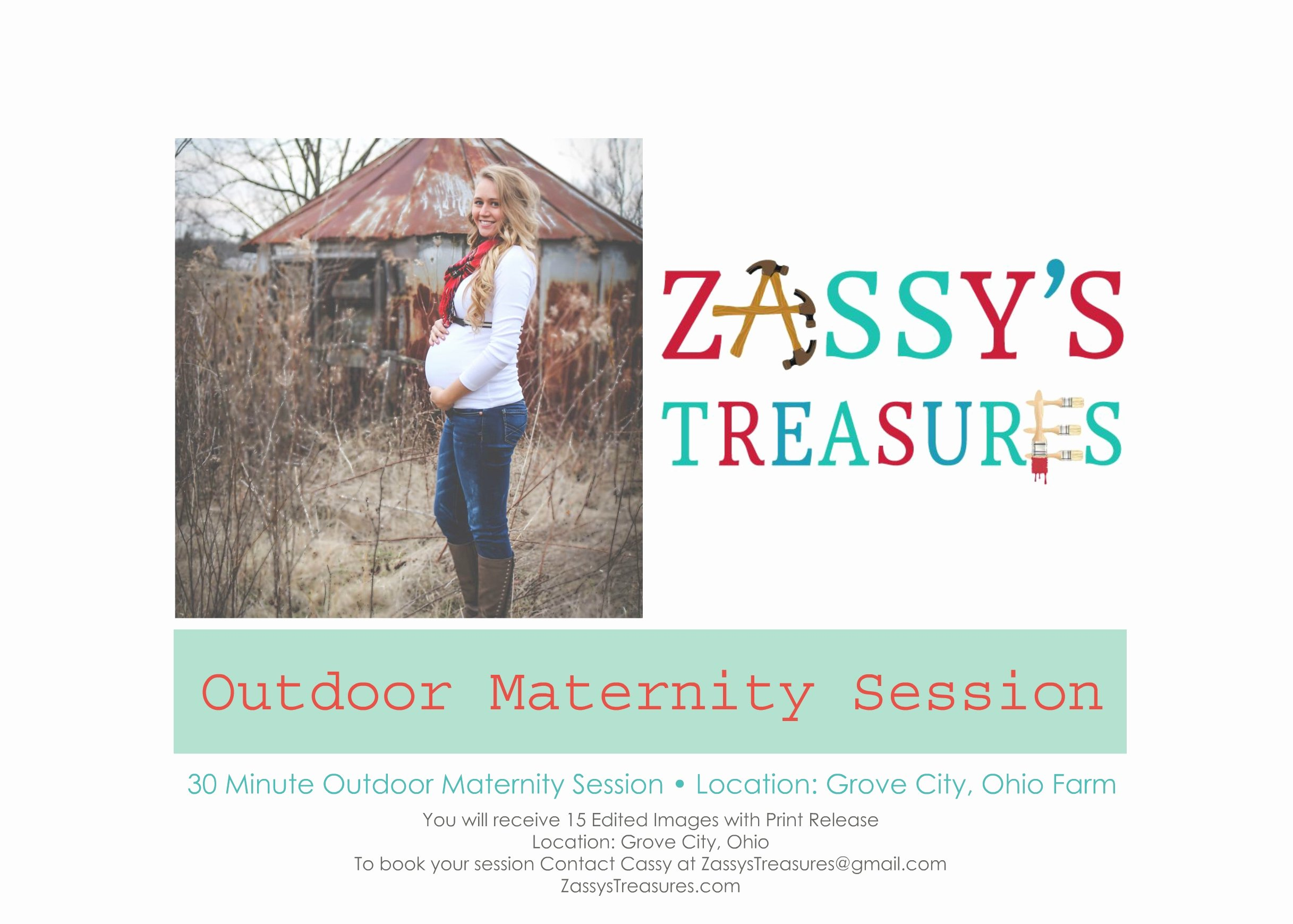 Photo Session Gift Certificate New Gift Certificate – 30 Minute Outdoor Maternity Session