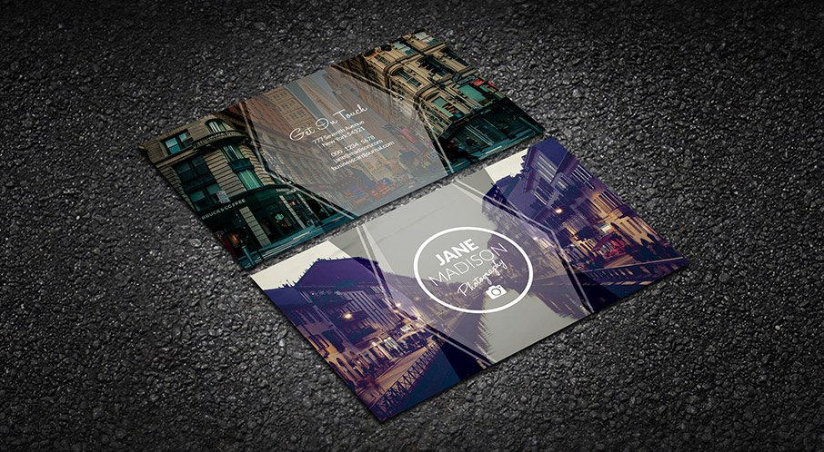 Photographer Business Card Template Awesome Free Modern Simplicity Grapher Business Card Template