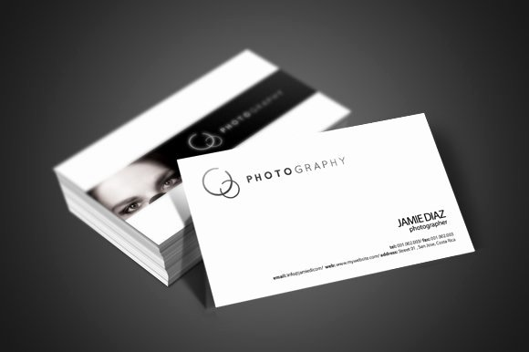 Photographer Business Card Template Awesome Grapher Business Card Business Card Templates Creative Market