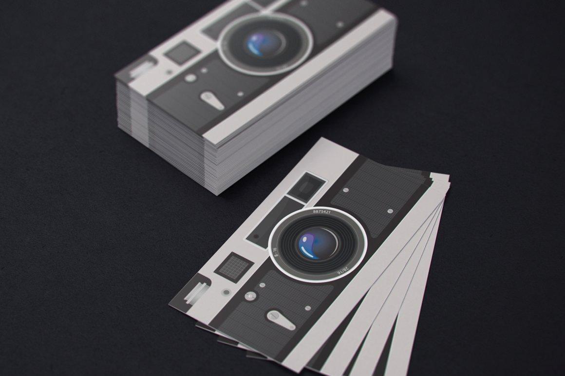 Photographer Business Card Template Best Of Grapher Business Card Template Business Card Templates Creative Market